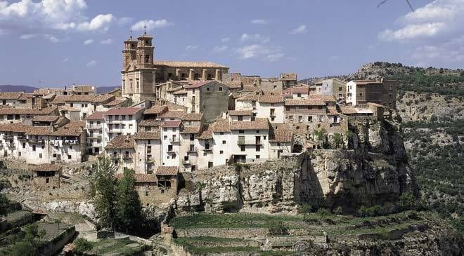Cantavieja Maestrazgo Teruel