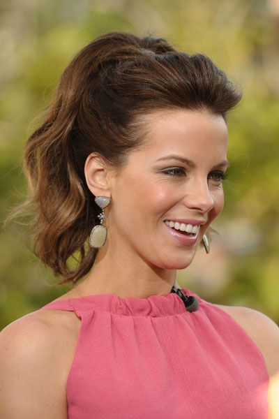 If I try really hard and practice a lot, I might semi-master some semblance of the not-so-Saturday ponytail.  0117-kate-beckinsale-ponytail-hairstyle_bd.jpg