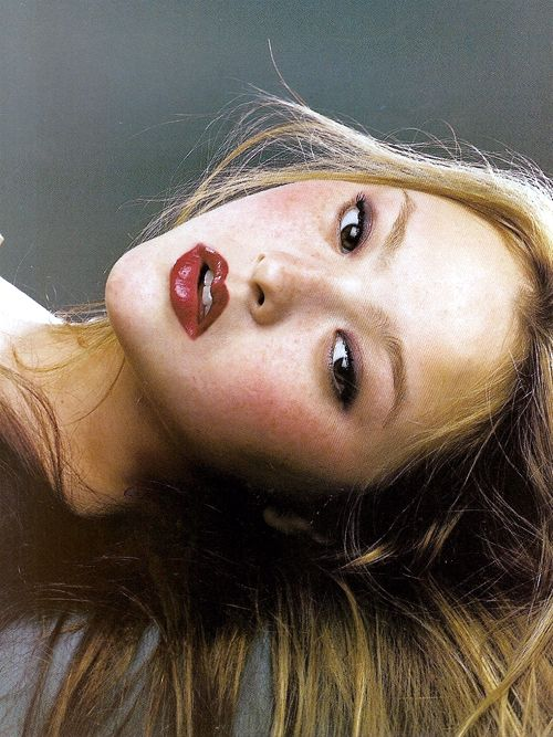 "Devon Aoki in ""La Couture Nature"" by Satoshi Saikusa for Vogue Paris March 2000"