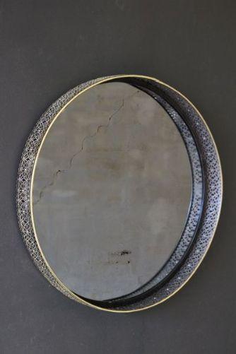 Brass Effect Amalia Mirror