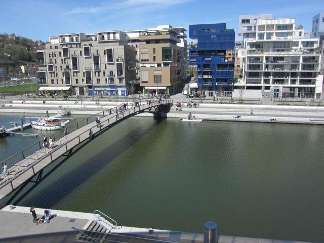 Lyon, quartier de la Confluence