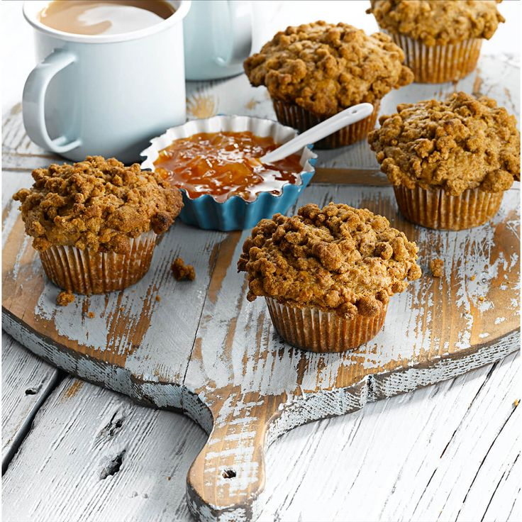 Muffins traditionnels au son