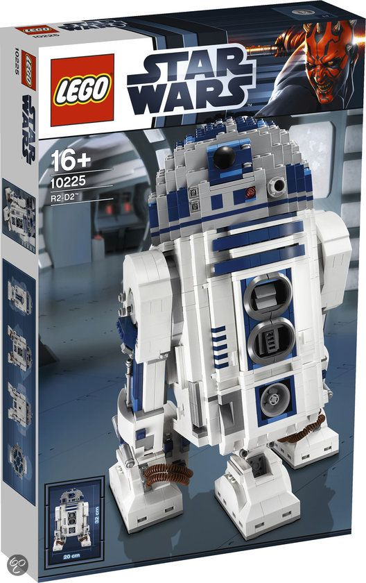 star wars r2d2 lego | LEGO Star Wars R2 D2 - 10225