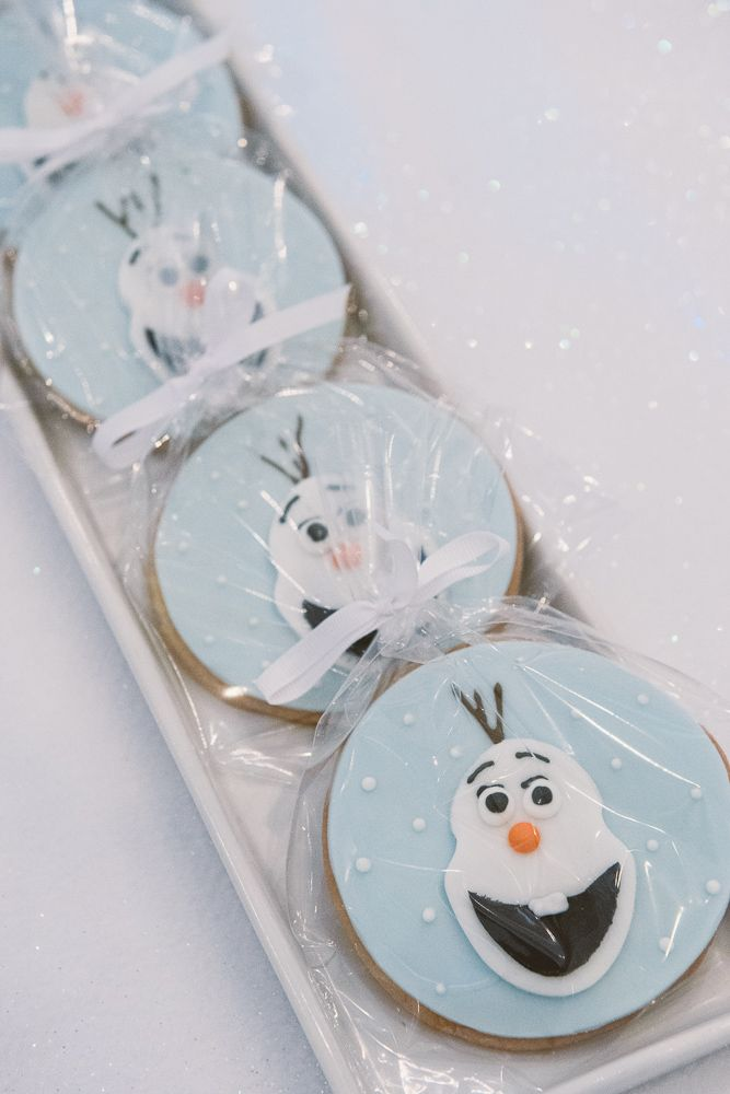 Delicious Olaf Cookies