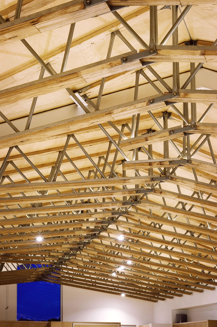 On pinterest exposed beams timber frames and vaulted ceilings