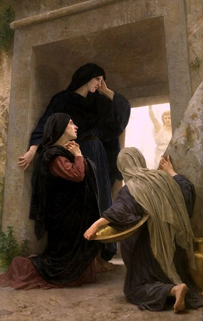 The Three Marys at the Tomb, William-Adolphe Bouguereau (1825-1905 French)