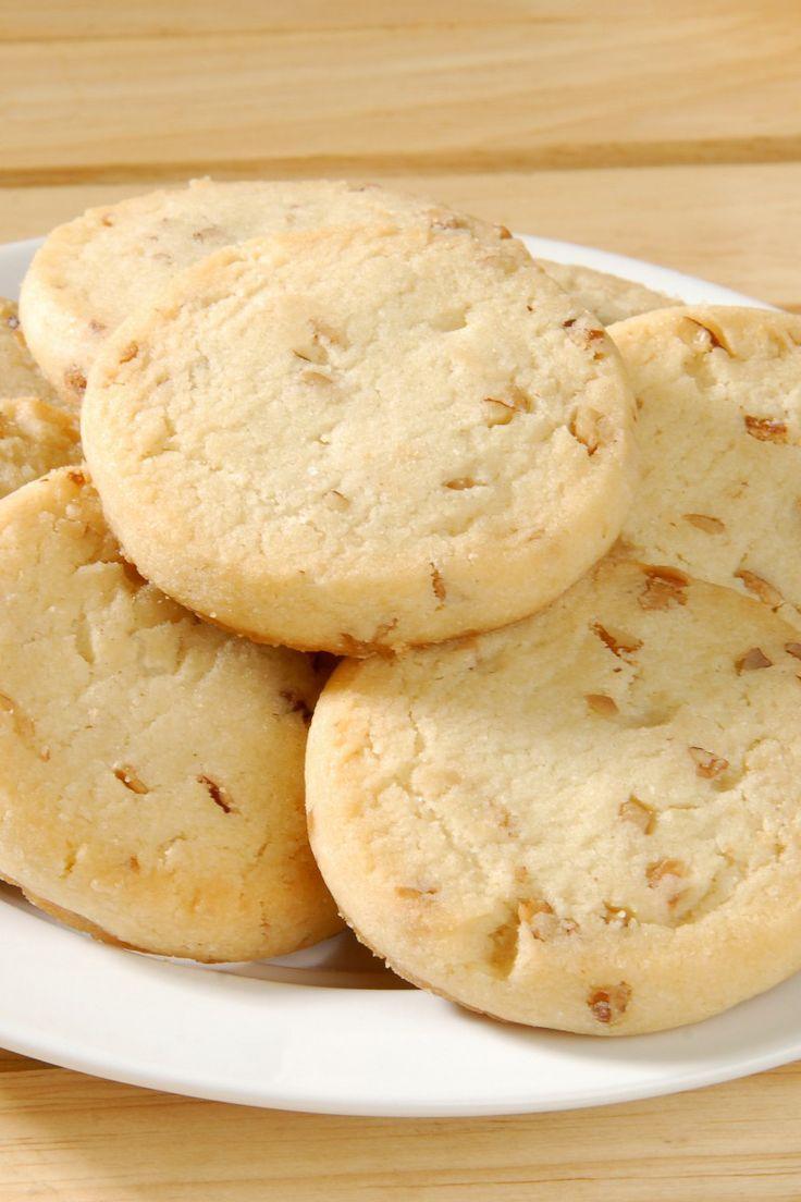 Delicious Pecan Shortbread Cookies Recipe.