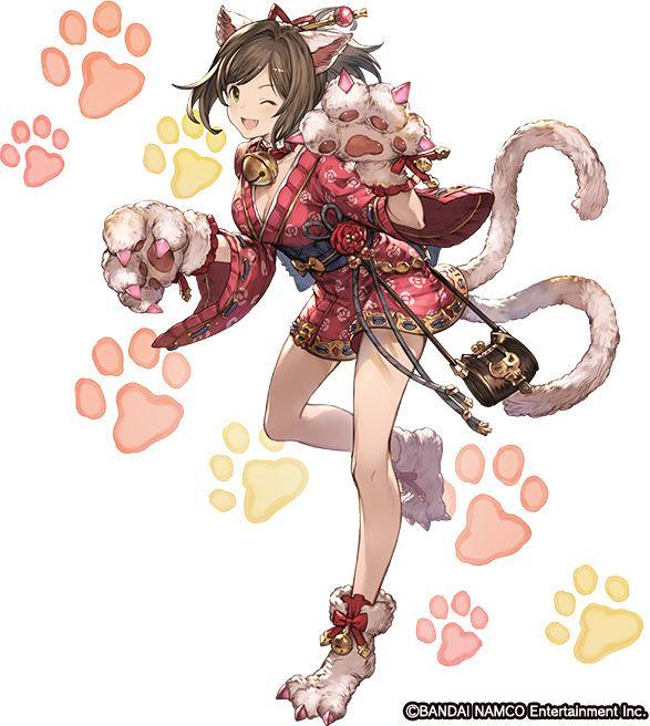 Cute kitsune girl. <3