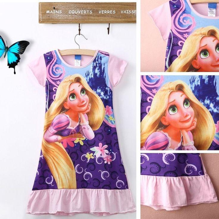 $4.77 (Buy here: https://alitems.com/g/1e8d114494ebda23ff8b16525dc3e8/?i=5&ulp=https%3A%2F%2Fwww.aliexpress.com%2Fitem%2FBaby-Kids-Girls-Cartoon-Princess-Printed-Short-Sleeved-Cotton-Pajamas-Nightdress-Dress-6-16Y%2F32717775983.html ) Baby Kids Girls Cartoon Princess Printed Short Sleeved Cotton Pajamas Nightdress Dress 6-16Y for just $4.77