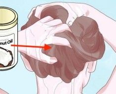 How-To-Put-Coconut-Oil-In-Your-Hair-To-Stop-It-From-Going-Gray-Thinning-Or-Falling-Out