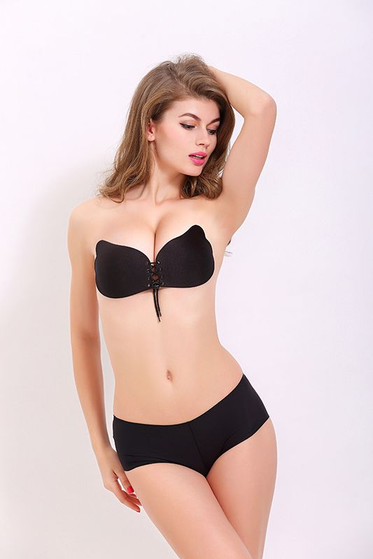 6a2a7505f8f33 Strapless Bra Coxeer A Cup B Cup C Cup Sweet Backless Bra Self Adhesive Bra  Invisible Dress Bra Strapless Push Up Bra No Back for Women Girls Kids Cup