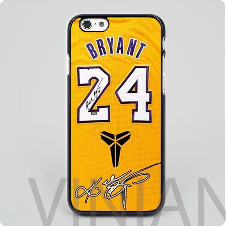 Kobe Bryant Mobile Phone Case Cover for iPhone Jersey Retire Black Hard Skin