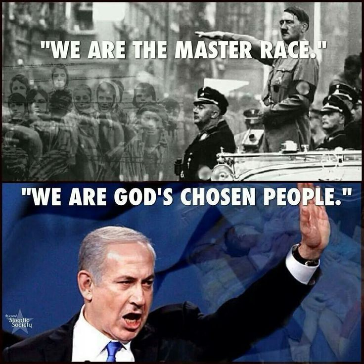 """We are the Master Race"" We are the God's Chosen People. """