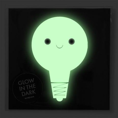 Glow in the dark Card - Lampa