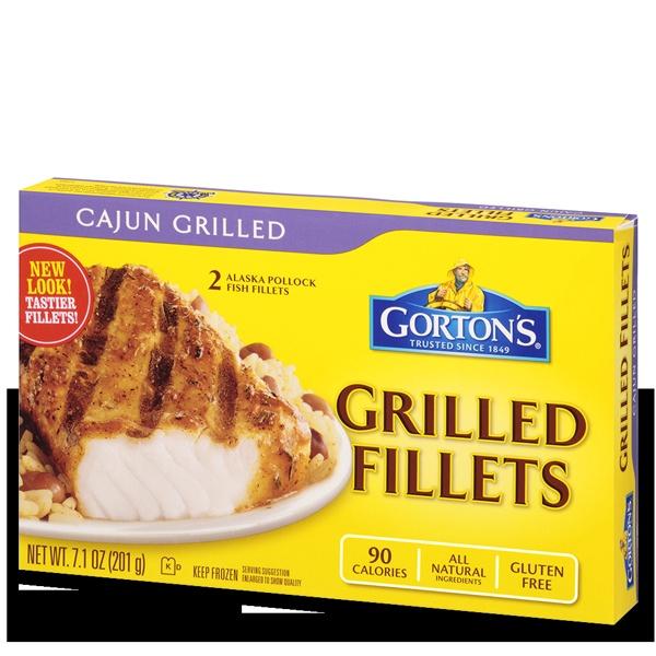 Gorton 39 S Seafood Cajun Grilled Fillets Food