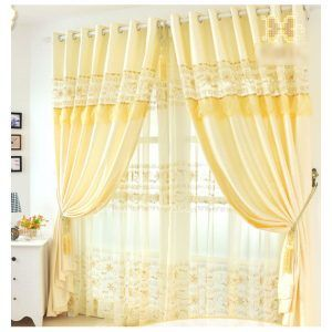 french-yellow-color-soundproof-laundry-room-curtain-chs1023-1