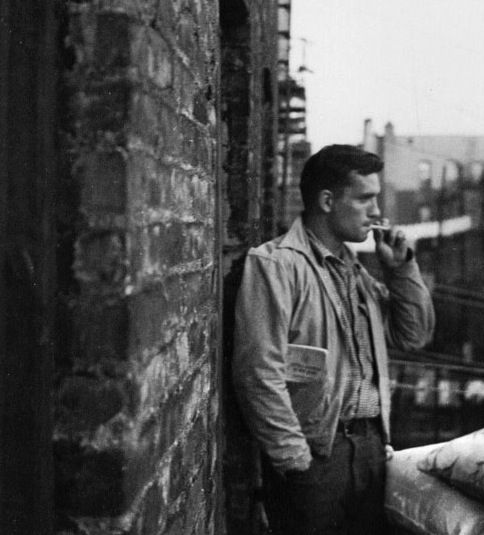 Jack Kerouac. I have a love for the Beat Generation and there's something so simple but effective about their wardrobes.