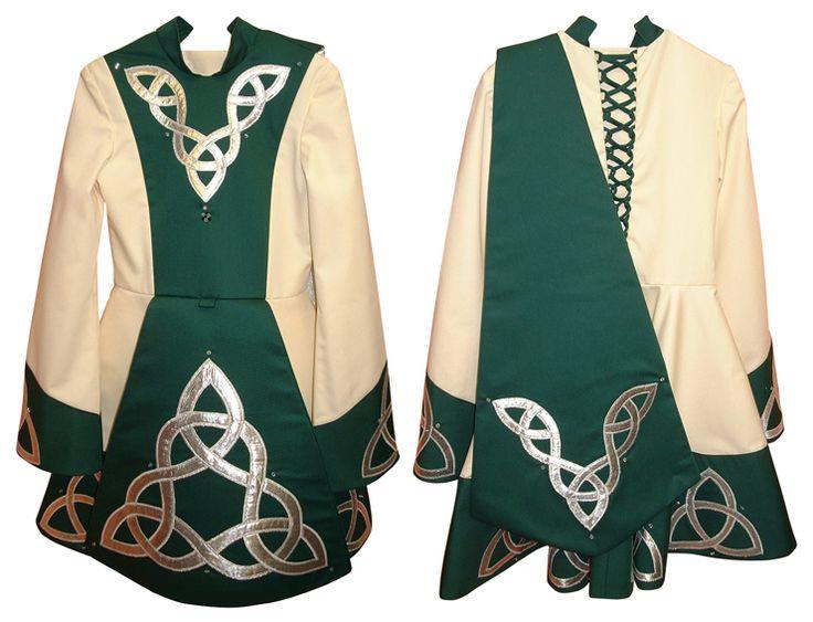 Traditional Irish dance dress
