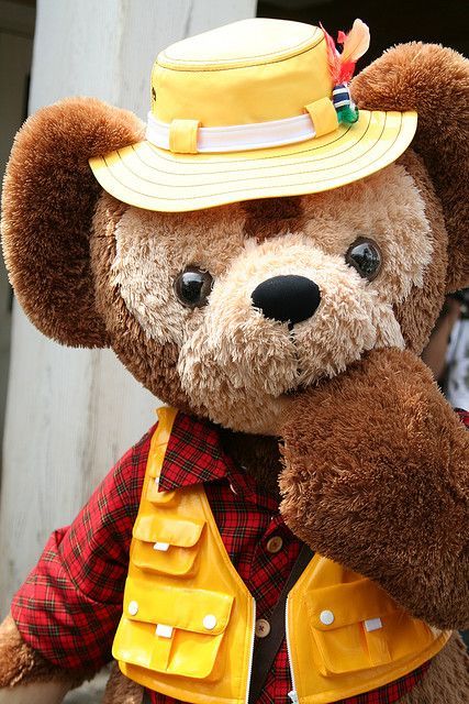 Duffy in fishin' clothes!!