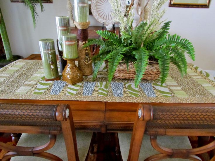 Best images about table centerpiece and tablerunners on