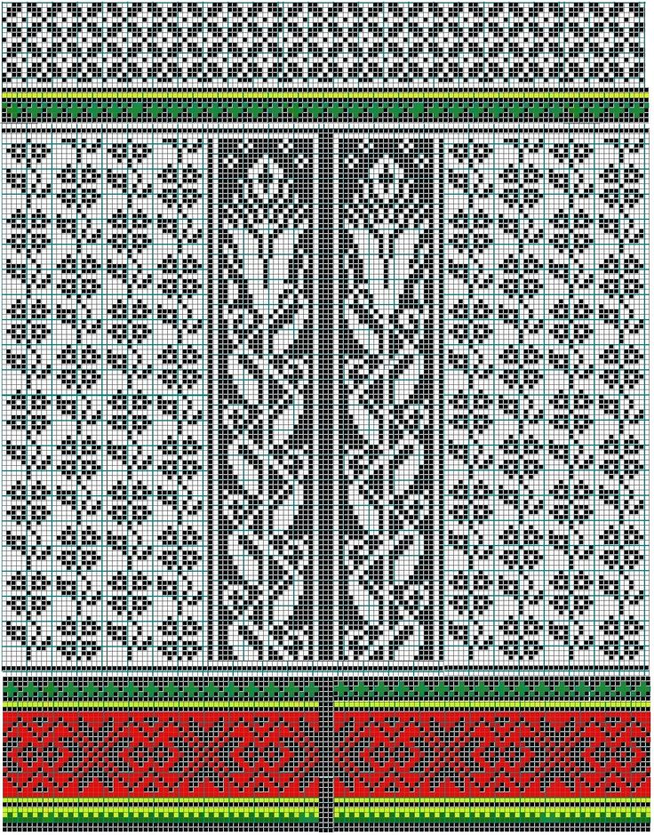 17 best images about mosaic knitting charts on pinterest