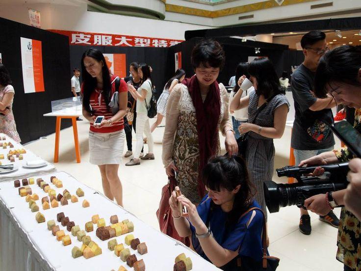 Food design : exposition itinérante en Chine sur le design culinaire français. Commissaire Marc Brétillot