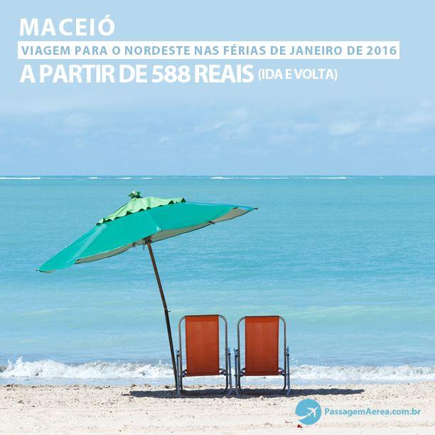 Férias de Janeiro de 2016 no nordeste brasileiro.   Aproveite as promoções:  https://www.passagemaerea.com.br/maceio-ferias-julho-2016.html   #maceio #passagemaerea #viagem #ferias