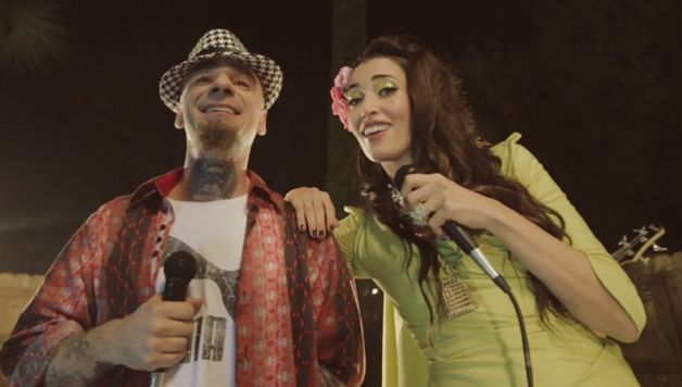 WATCH: Nina Zilli Sizzles In Zany New Music Video via @muldoon4048