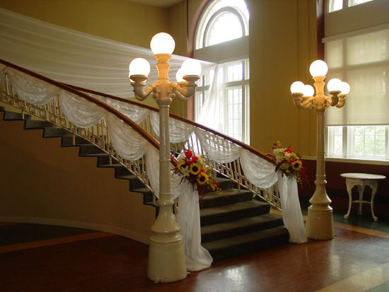 Stairway decorations
