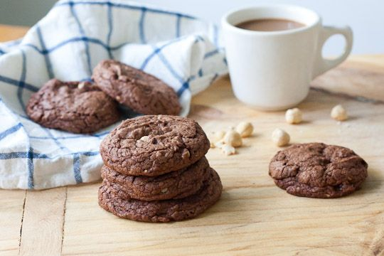 Chocolate Hazelnut Cookies | Cookie Recipes | Pinterest