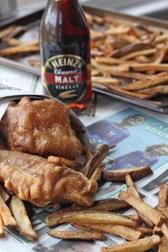 Guinness Beer Battered Fish & Chips