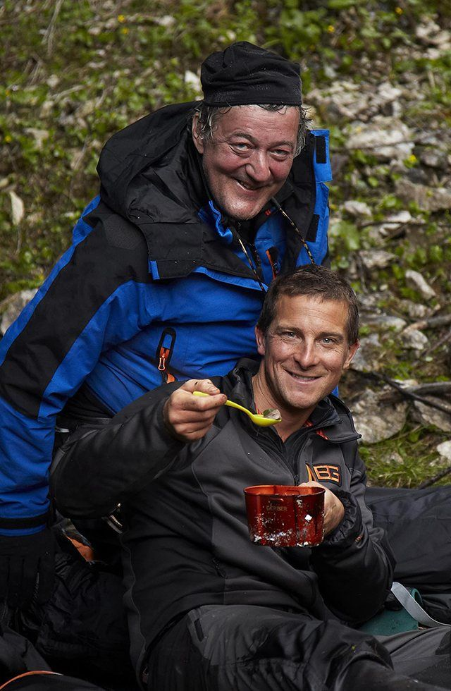 Bear's Wild Weekend with Stephen Fry - Return of a brief series in which the adventurer Bear Grylls takes someone off the television on some sort of brief (though discomfiting) adventure – think I'm A Celebrity… with a mercifully smaller cast and shorter running time. In this first episode, Grylls's guest/victim is the cruelly underexposed Stephen Fry, who is taken climbing in the Italian Dolomites, and subjected to ordeals including abseiling, waterfall-climbing and carving his own recently…