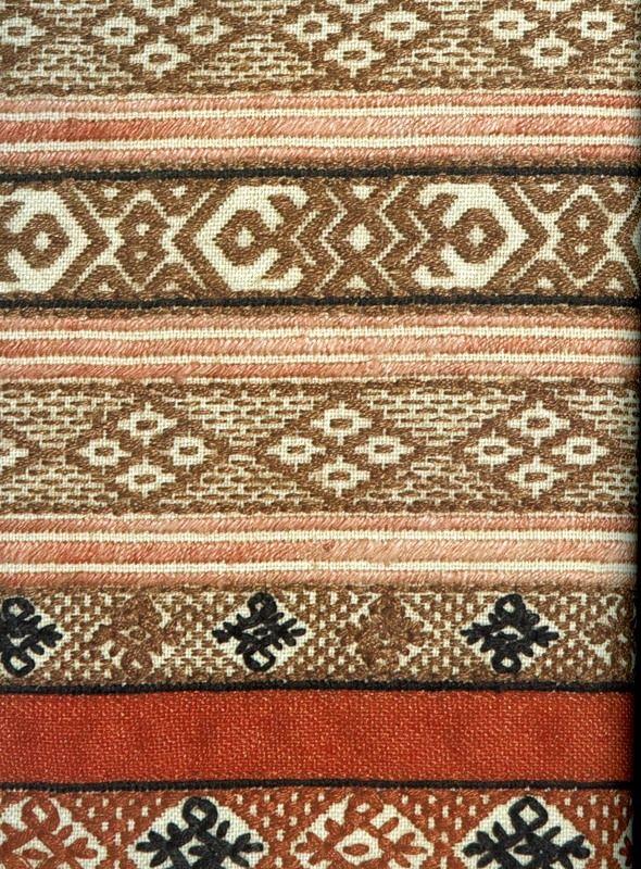 Фрагмент рязанской вышивки