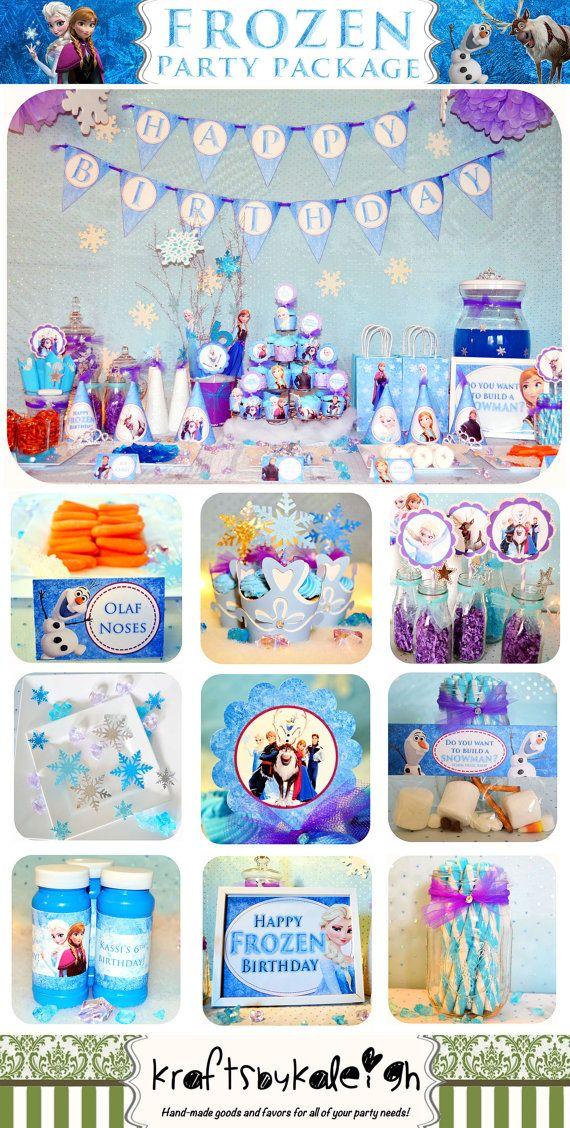 1089 best Frozen Birthday Party Ideas images on Pinterest Birthday