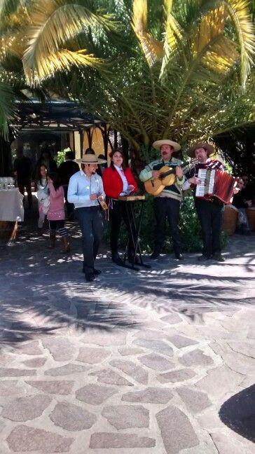 Conjunto musica chilena  18 de Septiembre 2015  hotel Santa Cruz