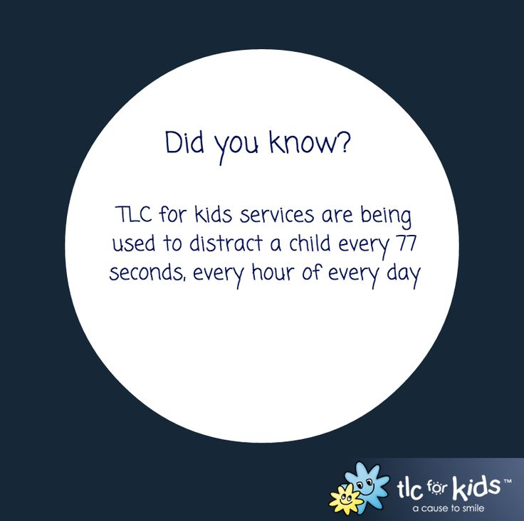 Have you experienced TLC for kids' services?