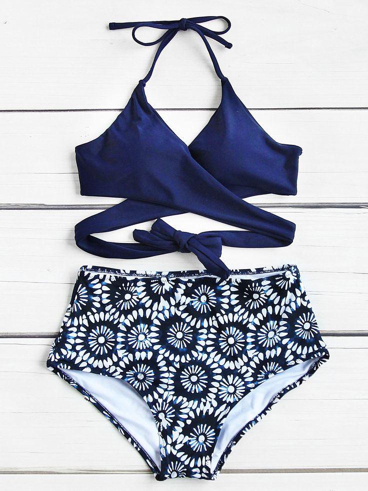 Shop Calico Print Wrap High Waist Bikini Set online. SheIn offers Calico Print Wrap High Waist Bikini Set & more to fit your fashionable needs.
