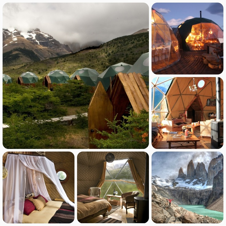 Glamping in Patagonia doesn't get much better than this! #glamping #patagonia #travel