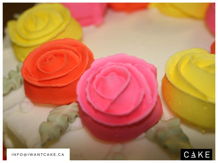 Maybe its not a big occasion but YOU WANT CAKE!  We also design smaller cakes. Contact us at info@iwantcake.ca  Website to come soon!!