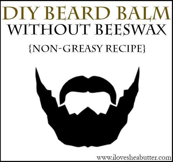 DIY Shea Butter Beard Balm Recipe   Without Beeswax