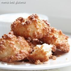 menu bez glutenu: kokosanki