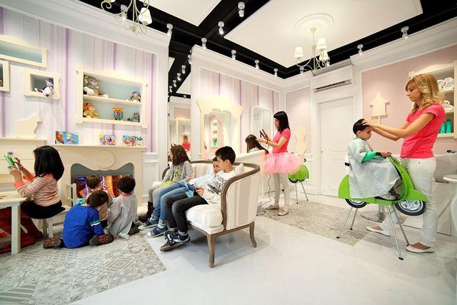 Dise o interior peluqueria infantil buscar con google - Diseno peluqueria ...
