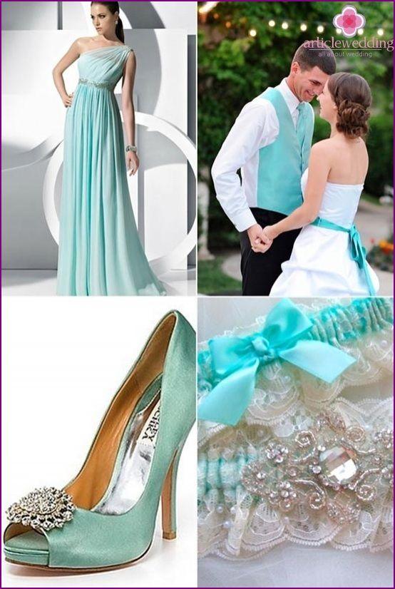 Ślub na niebiesko: romantyzmu i łatwości