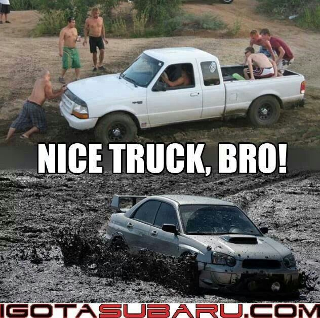 Nice truck, bro! I see you drive offroad, that's cute | Cars