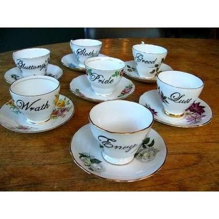 Seven Deadly Sins tea set | ThisNext #SevenDeadliesBook