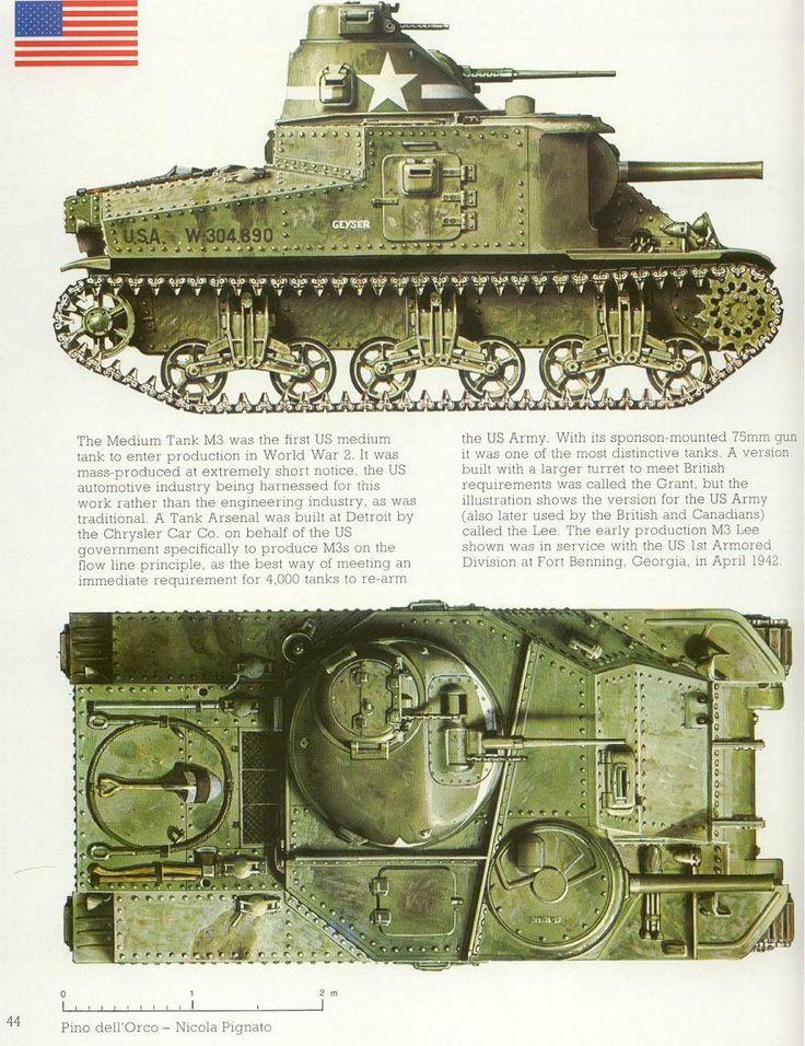 m3 lee grant tank