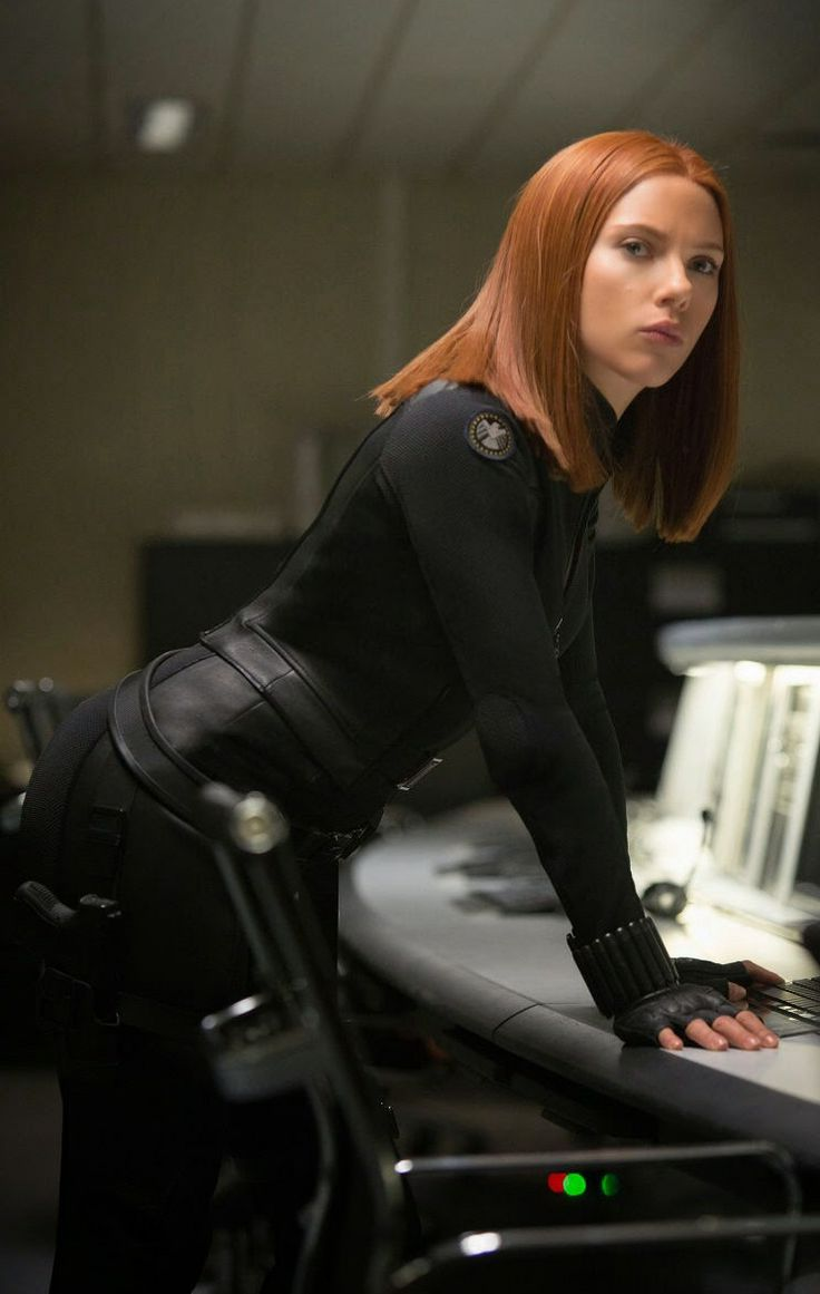 Black Widow from Captain America: Winter Solider ...