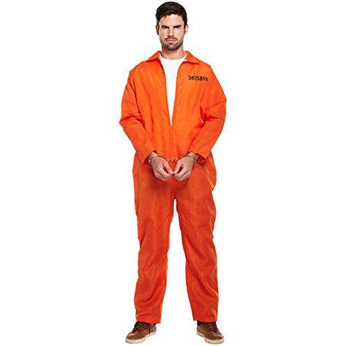 Disfraz de Preso. Cárcel ladrón calabozo convicto corredor de la muerte naranja. Carnaval Halloween  #CarnavalHalloween ¿Te ha gustado? Visita http://todohalloween.ovh/tienda/disfraz-de-preso-carcel-ladron-calabozo-convicto-corredor-de-la-muerte-naranja-carnaval-halloween/