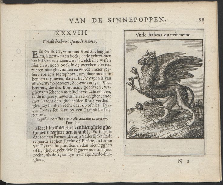 Sinnepoppen by Visscher, Roemer. Amsterdam, Blaeu, Willem Jansz, 1614.18 x 14 cm