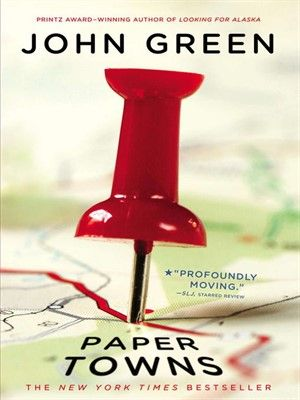 Start reading 'Paper Towns' on OverDrive: https://www.overdrive.com/media/612667/paper-towns